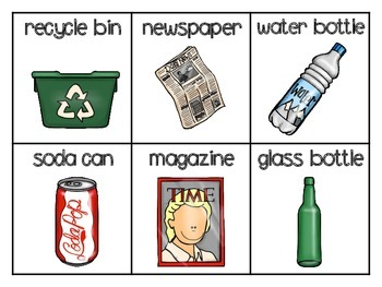 Recycling ABC Order