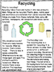Recycling- A Mini Close Read Unit- Differentiated Texts