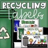 Recycling Labels Visual Prompts for Students