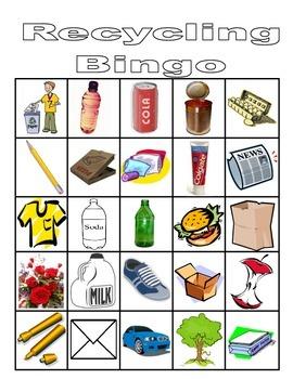 Recycling Bingo