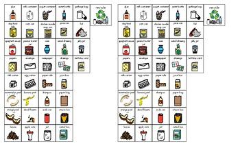 Recycling Brace Map
