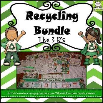 Recycling Bundle (Task Cards Included)