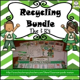 Recycling (Task Cards Included)