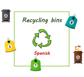 Recycling - Categorise in Spanish