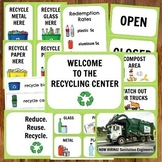 Recycling Center Dramatic Play Pack