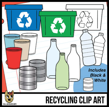 Recycling Clip Art