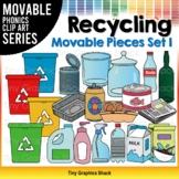 Recycling Clip Art Movable Pieces Set 1