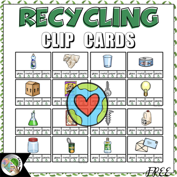 Recycling Clip Cards