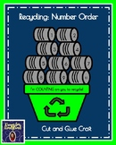 Recycling Craft for Kindergarten: Counting (Number Order 1-10, Spring Weather)