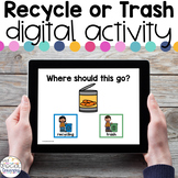 Recycling - Digital Activity - Distance Learning for Speci