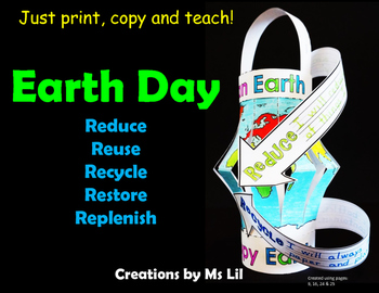 Recycling Earth Day Craft  ::  Environmental Craft  ::  Earth Day Activities