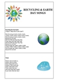Recycling & Earth Day Song Book
