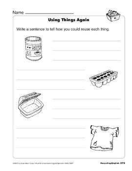 Recycling/El reciclaje