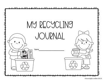 Recycling Emergent Reader and Activities for Earth Week