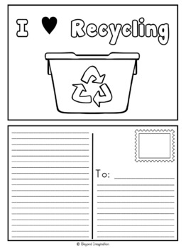 Recycling Environmental Study | 44 Pages Differentiated Learning + Bonus Pages