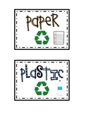 Recycling Labels {Free}
