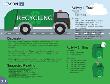 Recycling Lesson Plan