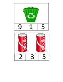 Recycling Number Clip 1-10