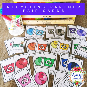 Recycling Partner Pairing Cards with Engagement Questions
