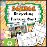 Science Earth Day Recycling Picture Sort