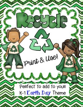 Recycling - Print & Use FREEBIE