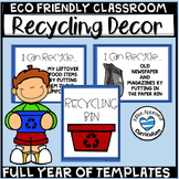 Recycling Posters Reduse Reuse Recycle Posters Activities Classroom Decor