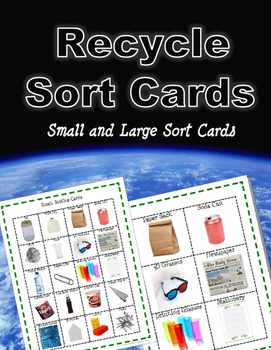 Recycle Sort Cards - Earth Day