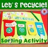 Recycling Sorting Activity and Mini Posters