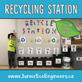 Recycling Station Project | Eco Club | Reduce school waste