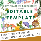 Recycling Superstar Environmental Impact - Recognition Awa