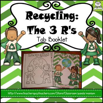 Recycling Tab Booklet