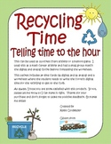 Recycling Time-Telling Time to the Hour