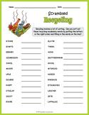 Recycling Vocabulary Word Scramble