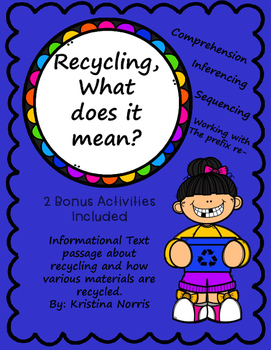 Recycling- What is it and why is it important?