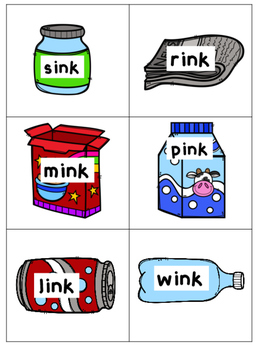 Recycling Word Families Activity/Literacy Center
