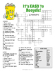 Recycling Crossword Puzzle