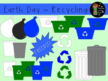 Recycling and Earth Day Clip Art Freebie