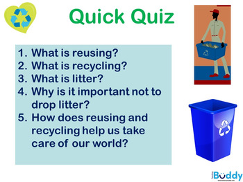 Recycling and Reusing