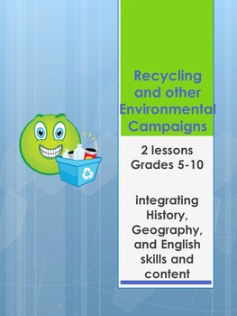 Recycling and other Environmental Campaigns- activities, research tasks and more