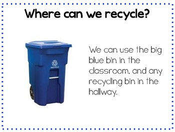 Recycling at School