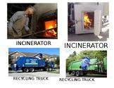 Recycling study creative curriculum vocabulary cards