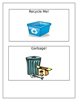 Recycling/Garbage Poster for EcoSchools