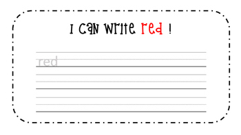 Red Activity Book!