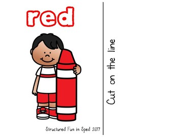 Red Adapted Book
