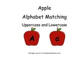 Red Apple Alphabet Matching