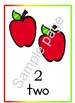 Red Apple - Counting Numbers 1-10
