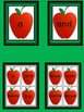 Red Apple Dolch Pre-Primer Sight Word Flashcards and Posters