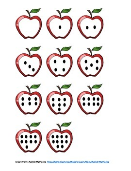 Red Apple Math (Numbers 1-10)