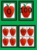 Red Apple Number Flashcards and Posters Bundle 0-100