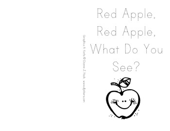 Red Apple, Red Apple, What Do You See?
